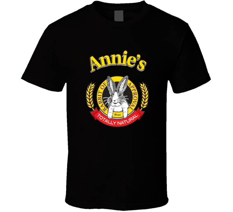 Annie mac rabbit approval logo t-shirt