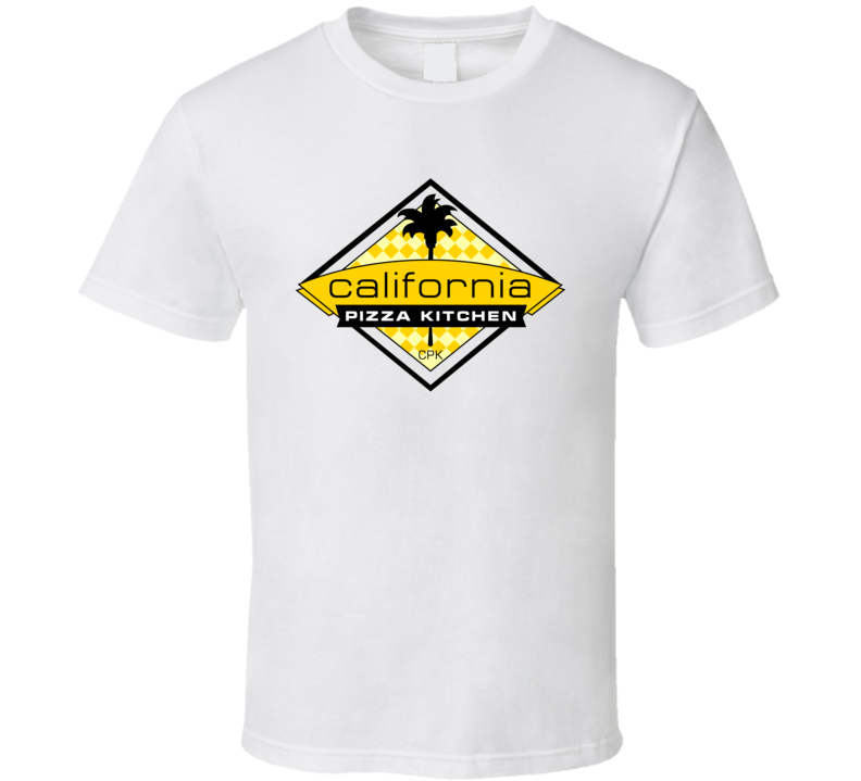 California pizza kitchen logo t-shirt