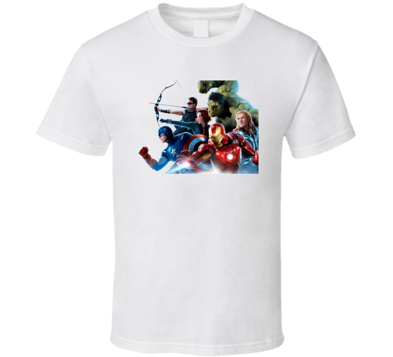 the avengers marvel t-shirt