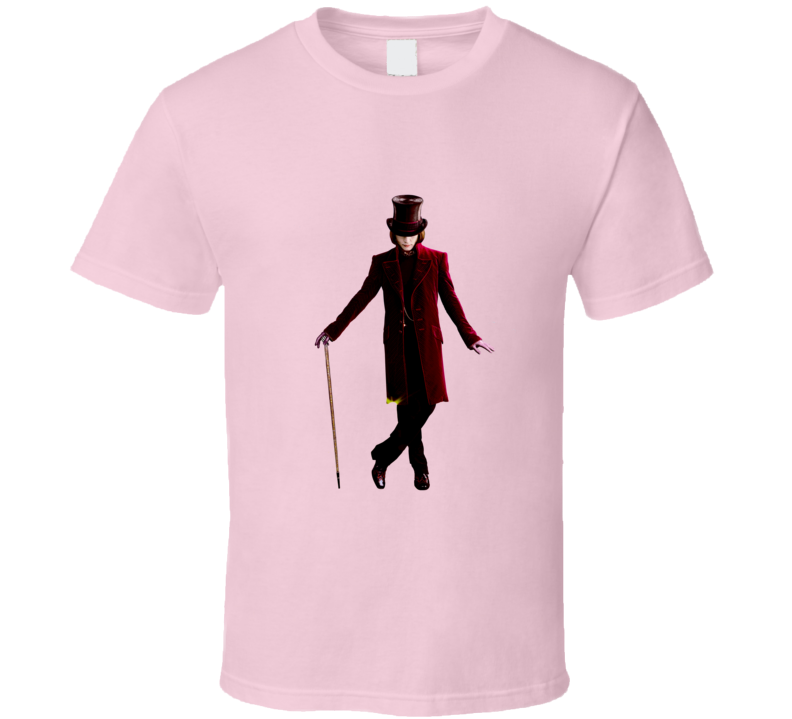 Willy Wonka And the Chocolate Factory Great shirt tee Movie T shirt