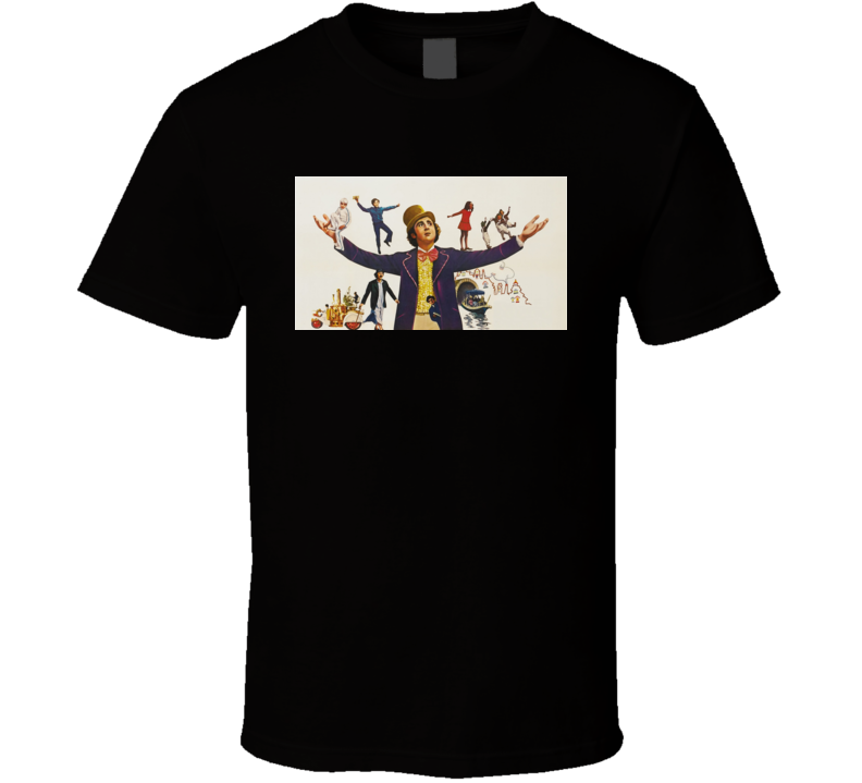 Willy Wonka And the Chocolate Factory Movie T shirt