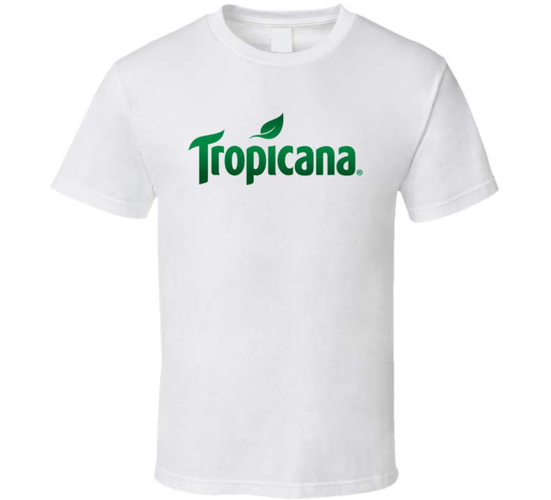 Tropicana orange juice logo shirt t-shirt tee
