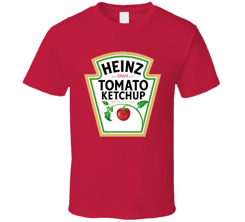 Heinz Tomato Ketchup Food Fan T Shirt