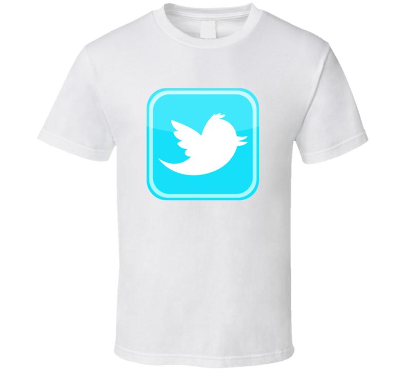 Twitter Bird Logo t-shirt Social Media logo Twitter Tweet Tweet t-shirt