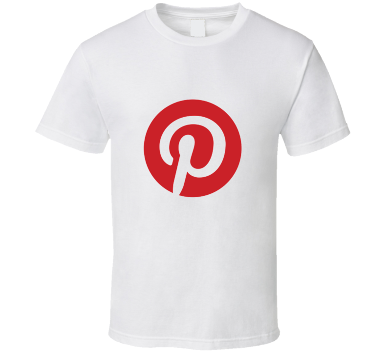 Pinterest icon logo t-shirt pin your favorite pictures Apps techie t-shirts