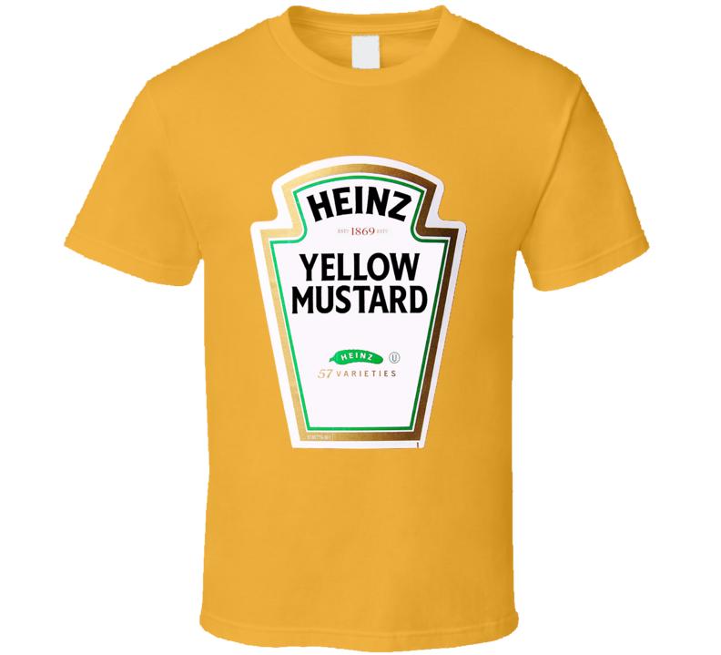 Heinz Yellow Mustard Ketchup Funny Couples Condiment Halloween T Shirt