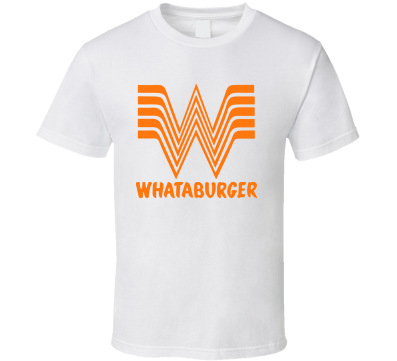 Whataburger Fast Food Restaurant Logo T Shirt
