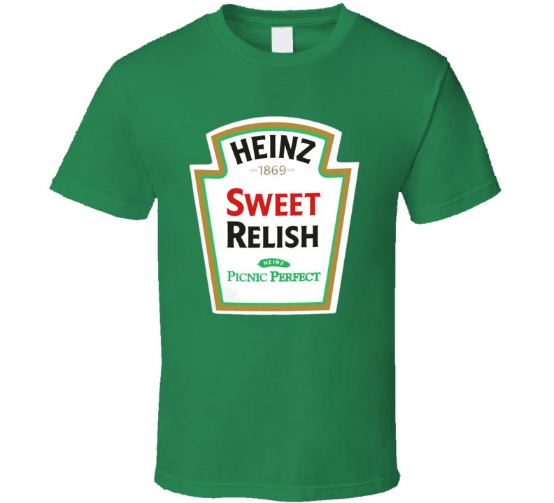Heinz Sweet Relish Ketchup Funny Bottle Logo Halloween T Shirt