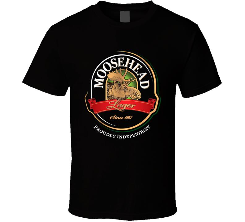 Moosehead Beer Retro Advertising Canadian Beer T Shirt