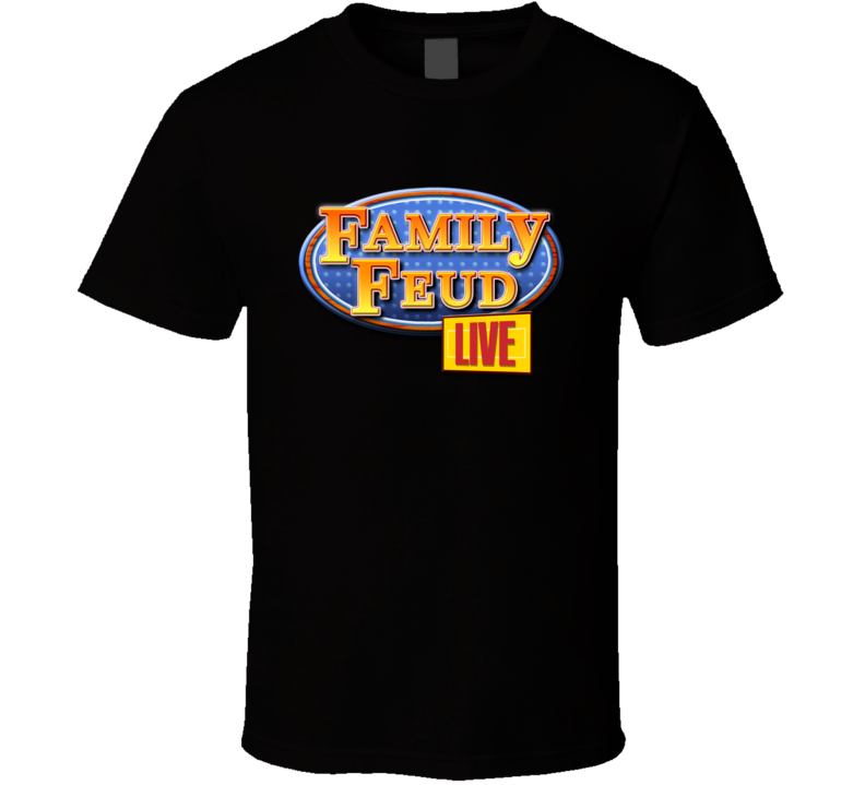 Family feud Vintage Game Show Logo T Shirt