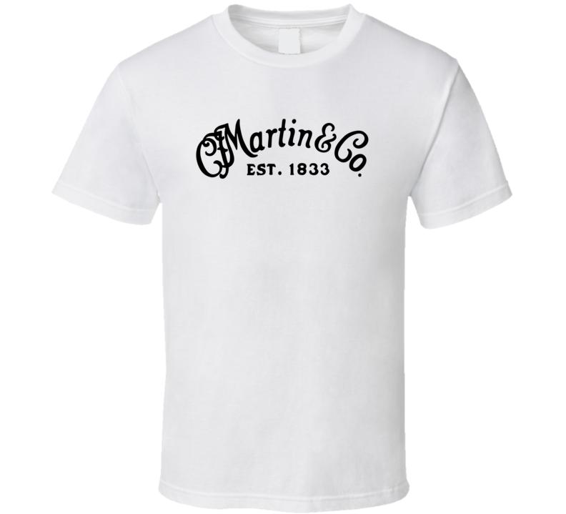 Martin Guitar Logo Distressed T-Shirt