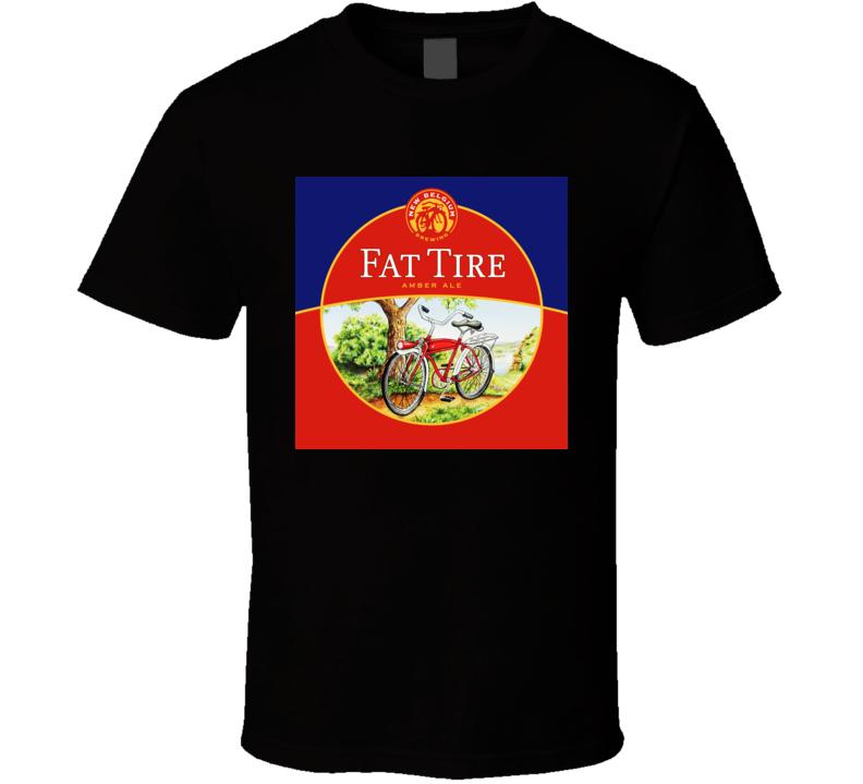 Fat Tire Belgium Beer T Shirt