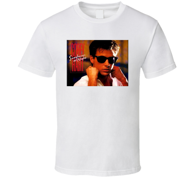 Corey Hart Sunglasses at Night retro 80s T Shirt