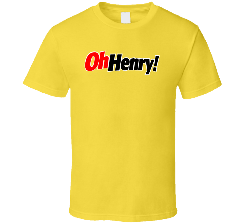 Oh Henry Candy Bar T Shirt