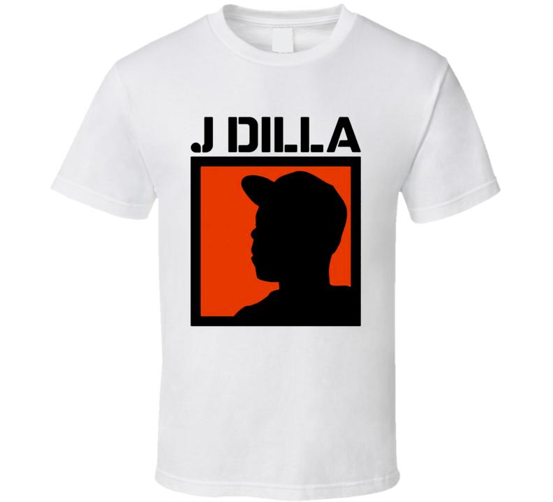 Jay Dee J Dilla Slum Village Rap Hip Hop T Shirt