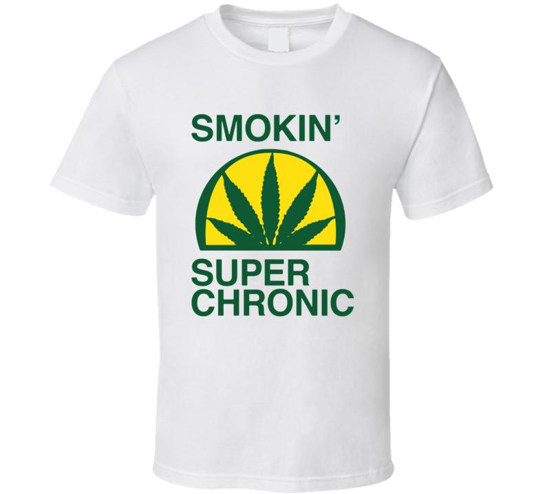 Smokin Super Chronic Rap T Shirt