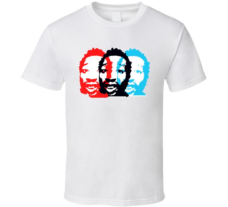 Ol Dirty Bastard Warhol Retro Rap T Shirt