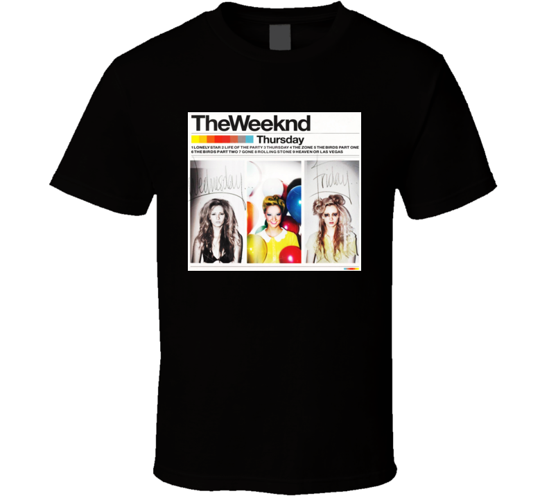 The Weeknd Thursday Xo T Shirt