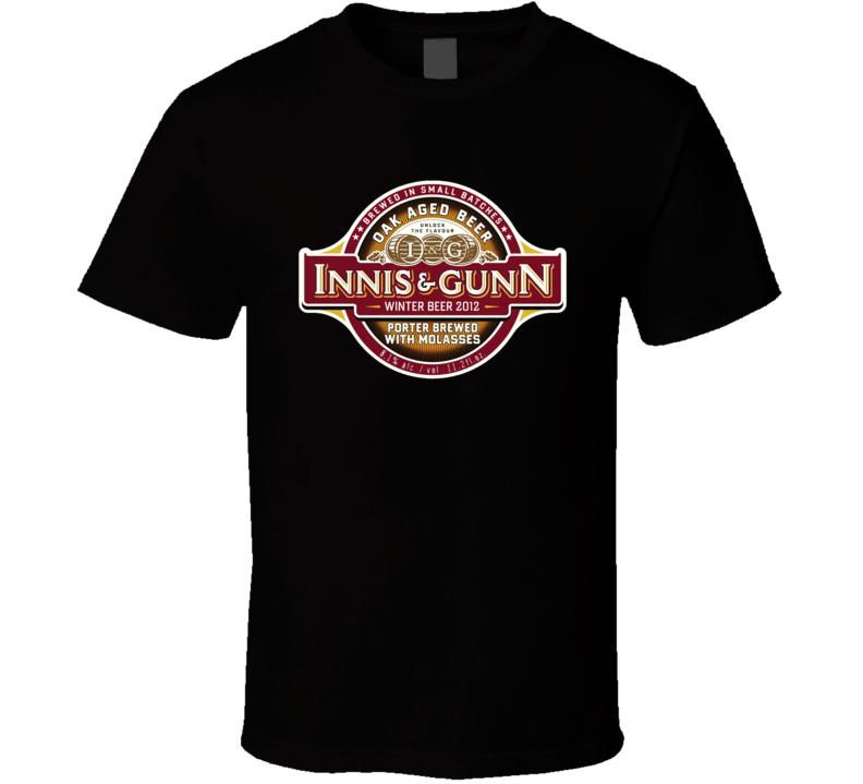 Innis And Gunn Scotish Beer Ale British Alcohol T Shirt