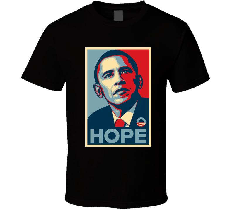 obama hope t shirt