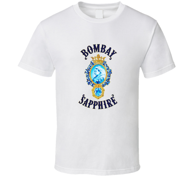Bombay Sapphire Gin Liquor T shirt