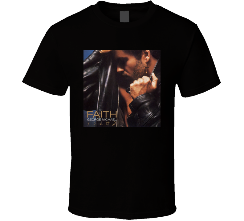George Michael Faith Album Cover Image T shirt