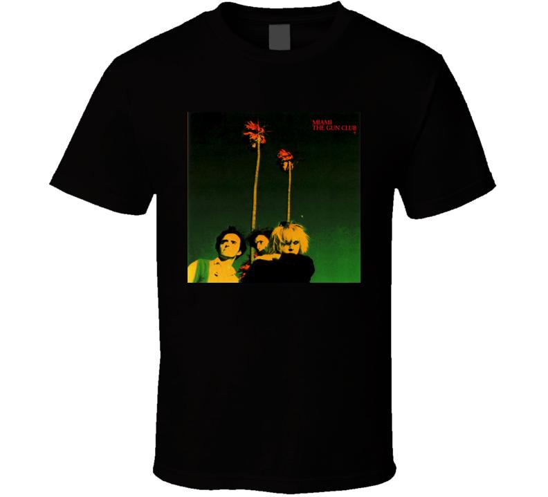 Gun Club Miami Album Cover Image T shirt