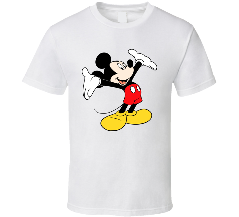 Mickey Mouse to even rustic graphic T shirt