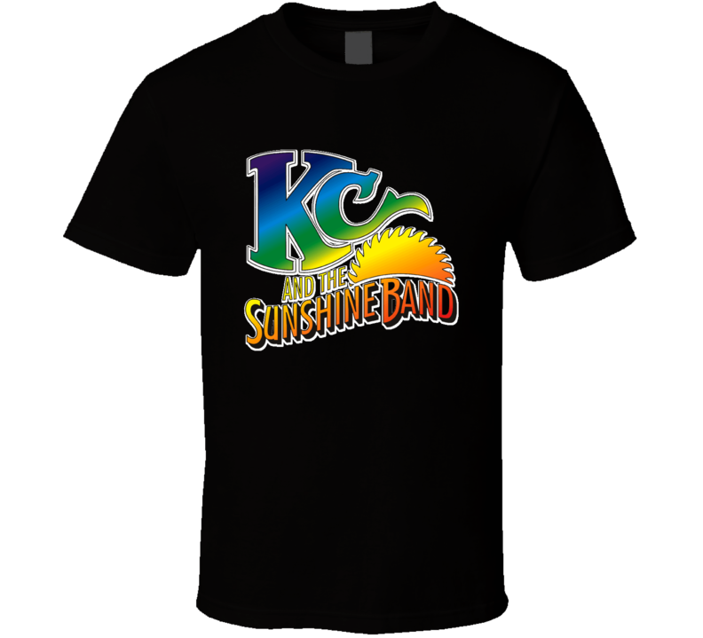 KC & Sunshine Band 70s Funk Disco Old School Music T shirt