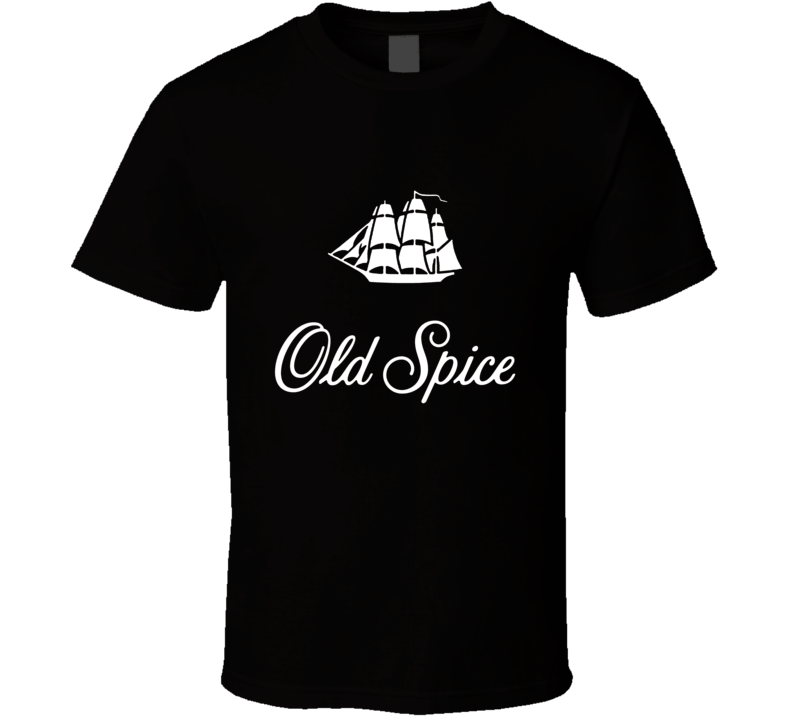 Old Spice Deoderant Red Logo T shirt