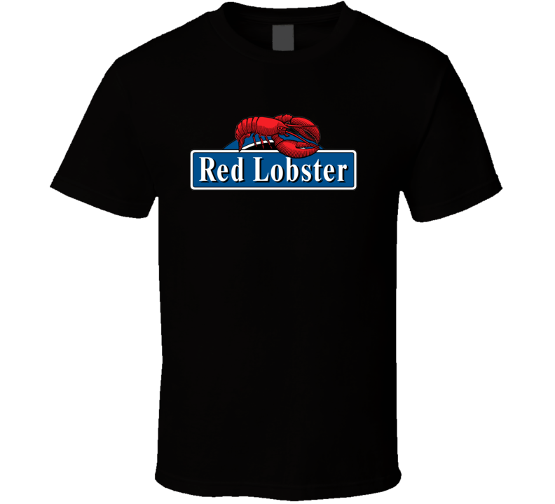 Red Lobster Logo T shirt