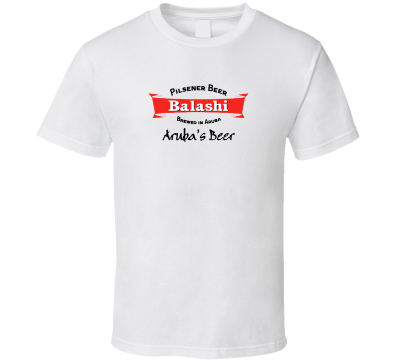 Sunshine s Aruba Balashi Beer Cool Aged Look T shirt