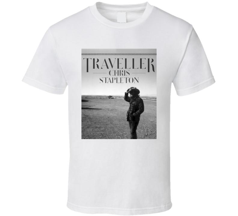 Traveller Chris Stapleton Album T shirt