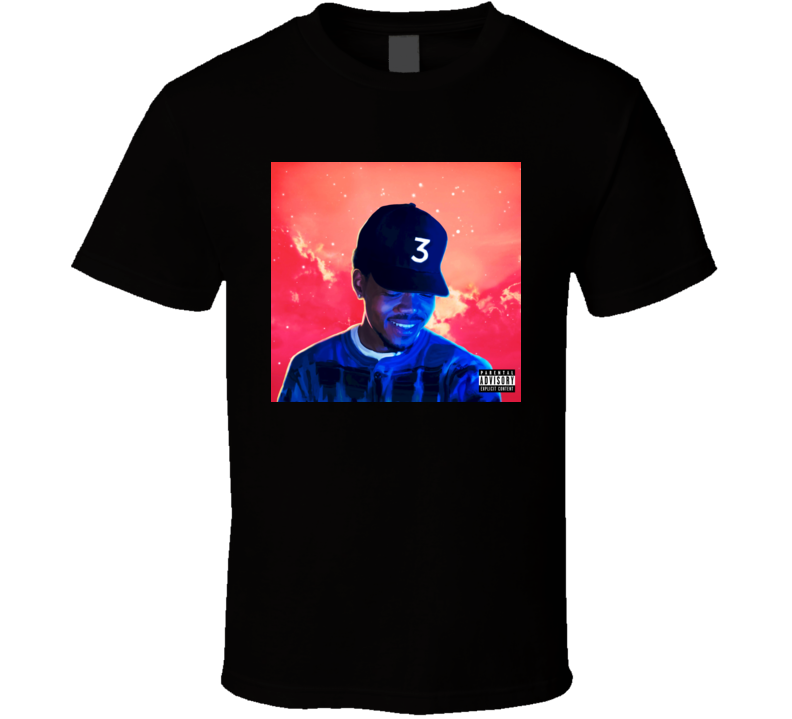 Chance The Rapper Coloring Book album t shirt