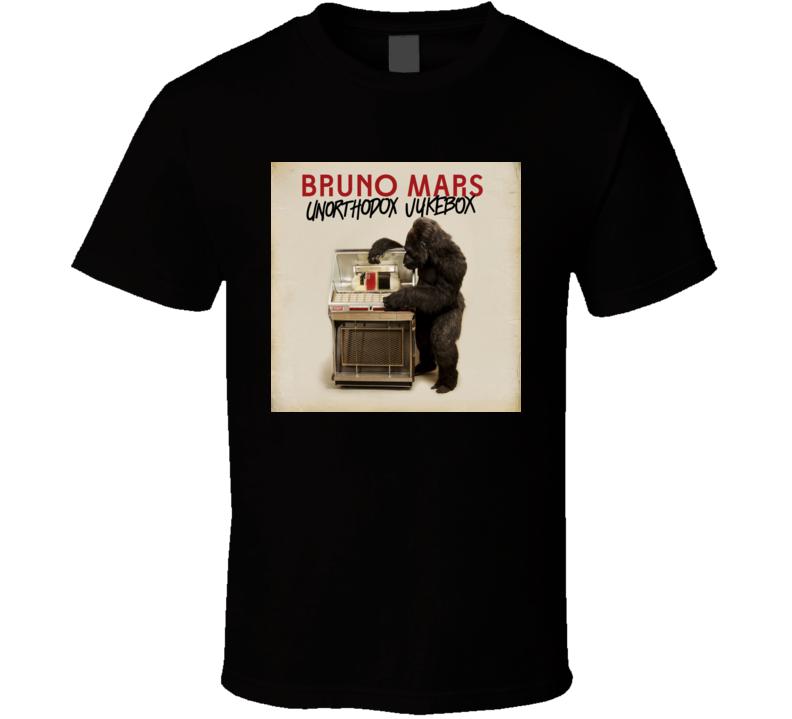 Unorthodox Jukebox Bruno Mars t shirt