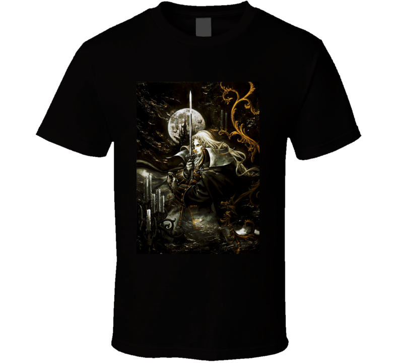 Castlevania Symphony of the Night games t shirt