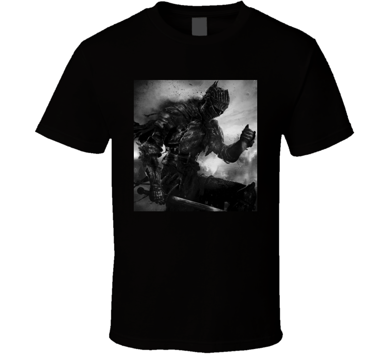dark souls games t shirt