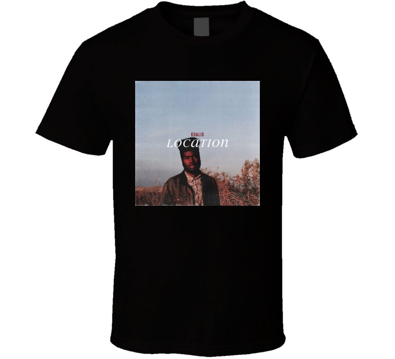 Location Khalid t shirt