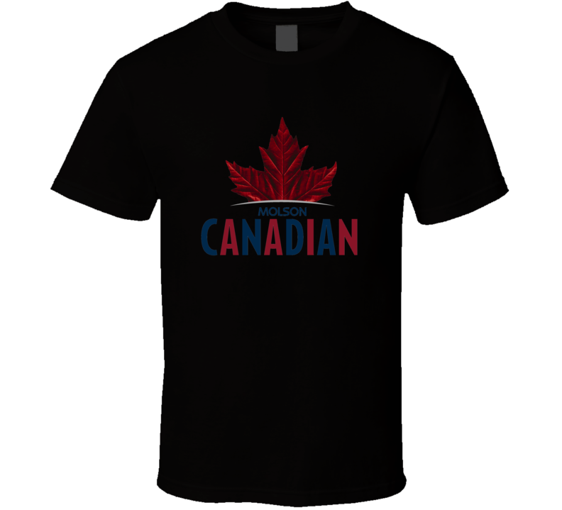 Molson Canadian Beer T shirt