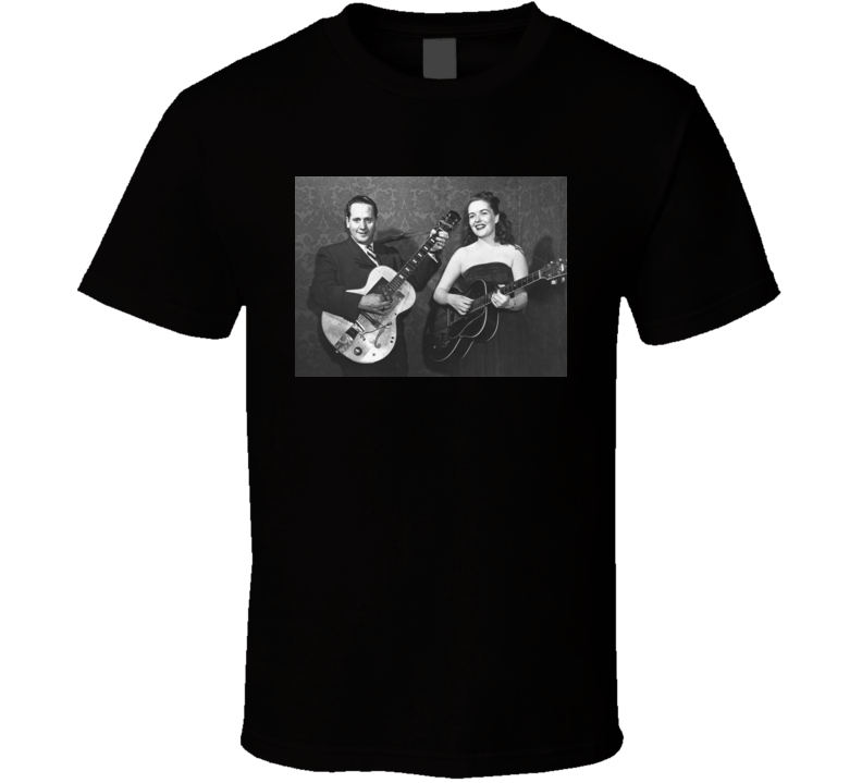 How High the Moon Les Paul Mary Ford t shirt
