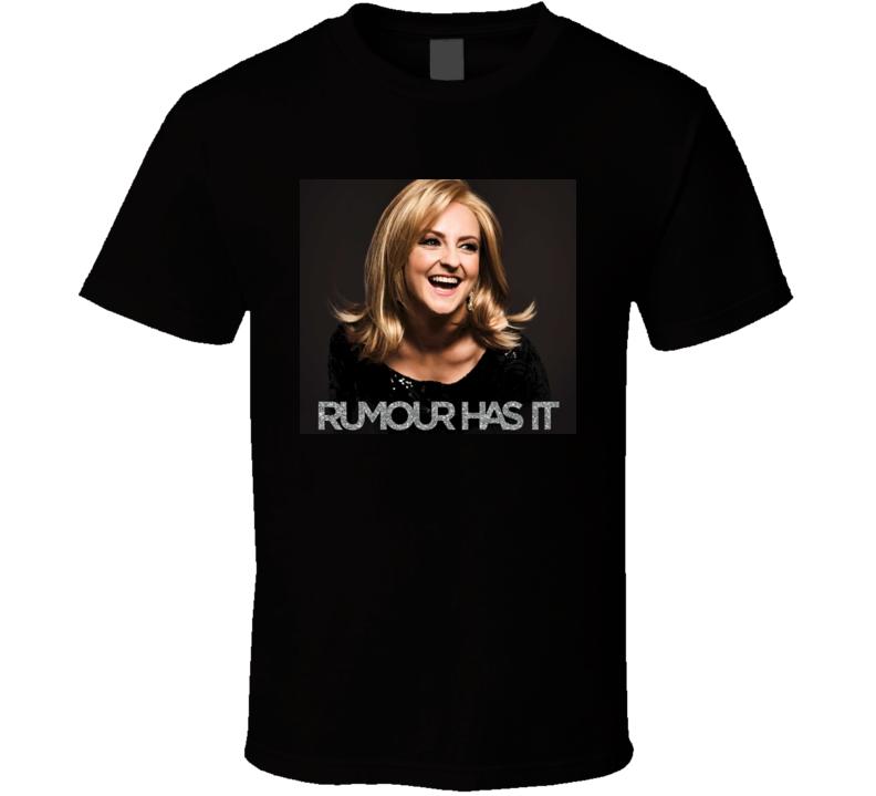 Adele Rumour Has It t shirt