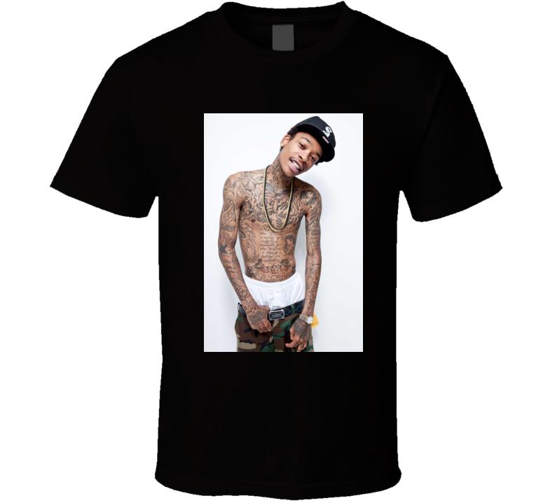 Wiz Khalifa Work Hard Play Hard t shirt