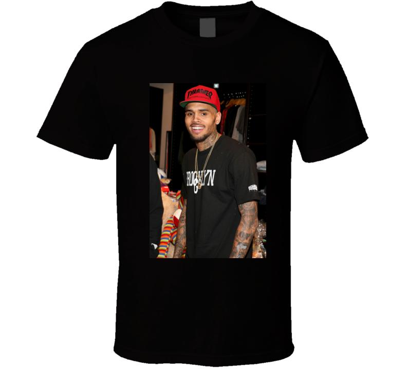 Chris BrownTurn Up The Music t shirt
