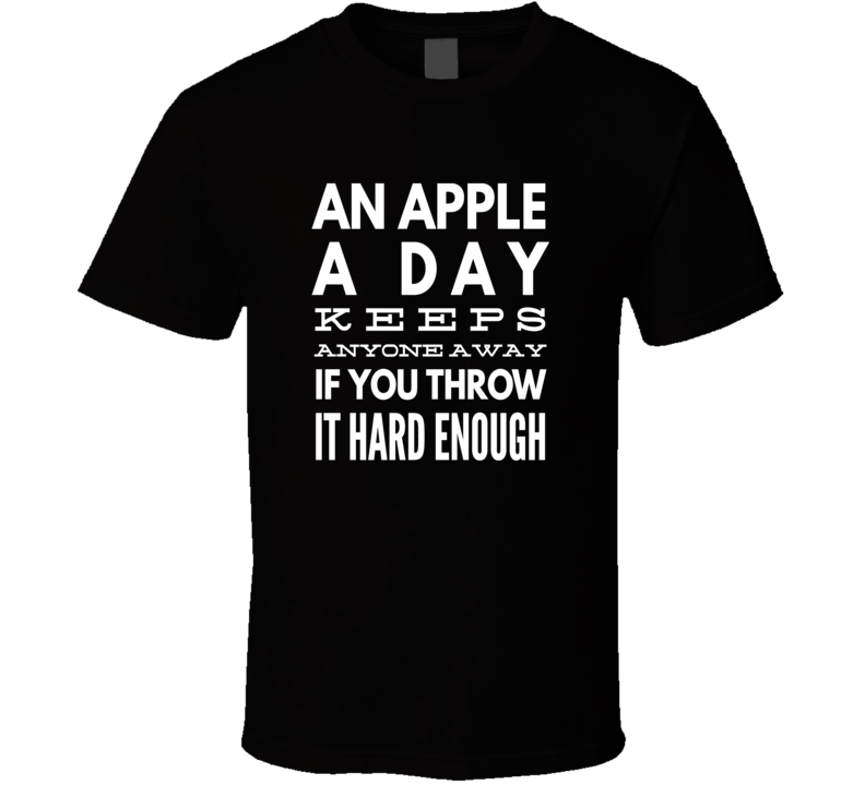 apple a day doctor funny cool boyfriend girlfriend t-shirt