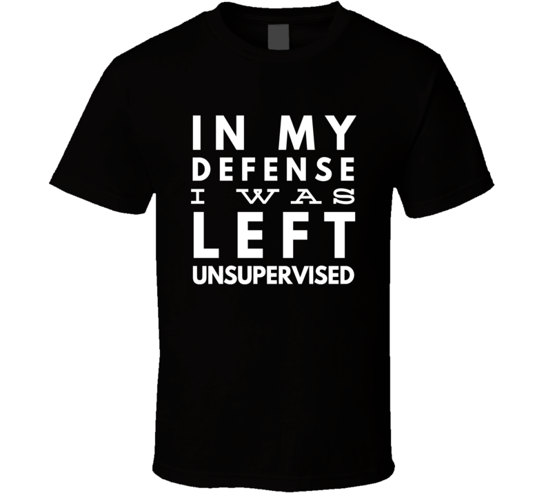 unsupervised employee funny cool boyfriend girlfriend t-shirt