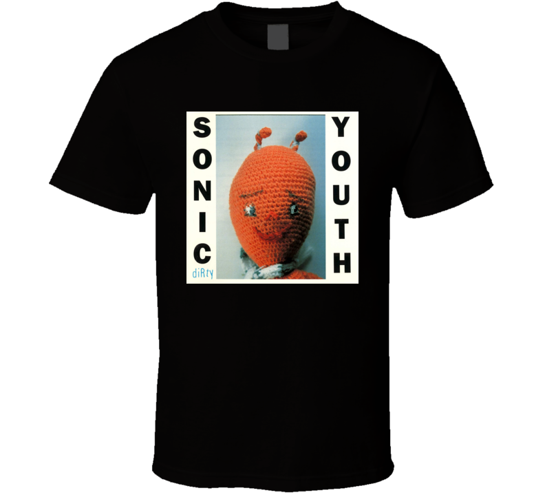 Sonic Youth T-shirt Dirty Album Cover