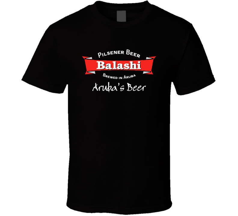 Balashi Beer Black T Shirt