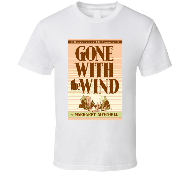 Gone With The Wind Novel Cover T-shirt