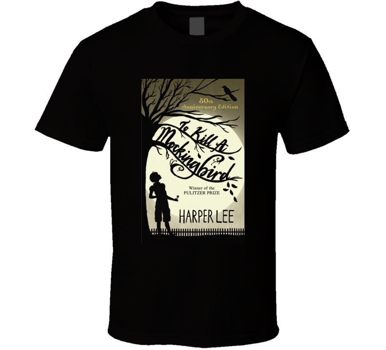 Kill A Mockingbird Novel Cover T-shirt