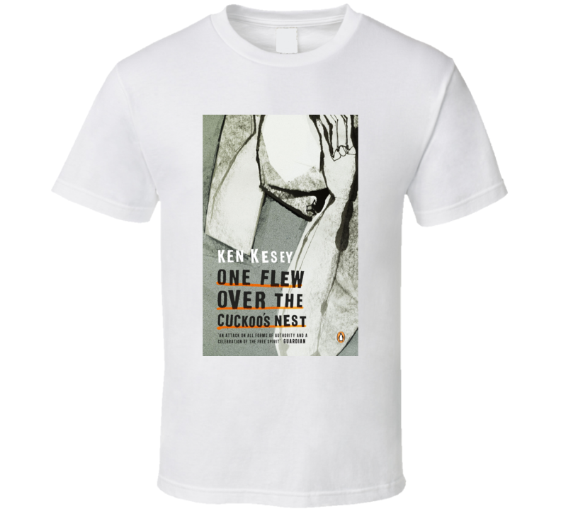 One Flew Over The Cuckoo's Nest Novel Cover T Shirt